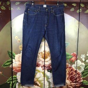 J. Crew Vintage Slim Straight Men's Blue Jeans
